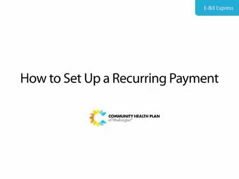 Tutorial: How to Set Up a Recurring Payment