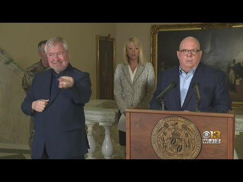 Coronavirus In Maryland: Gov. Larry Hogan Doesn't Issue 'Lockdown', But Closes Non-Essential Busines