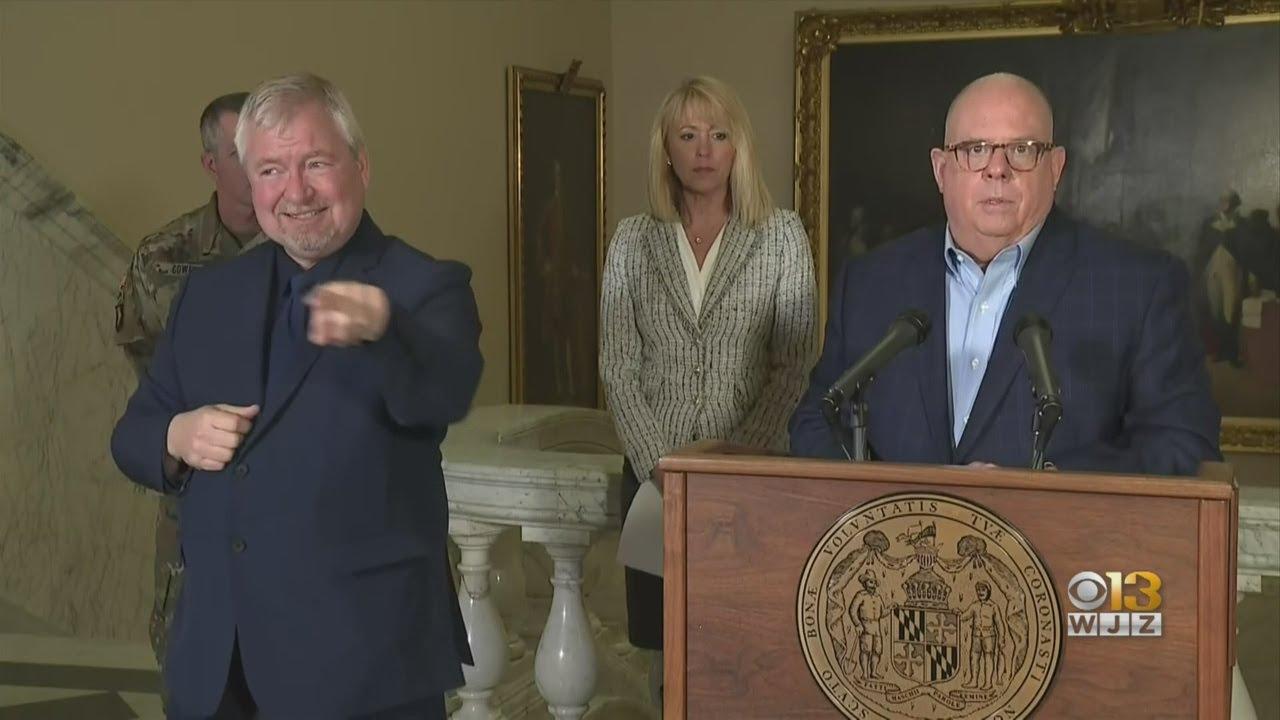 Maryland Gov. Hogan announces closure of non-essential ...