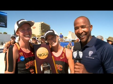 Sarah Hughes and Kelly Claes reflect back on NCAA title