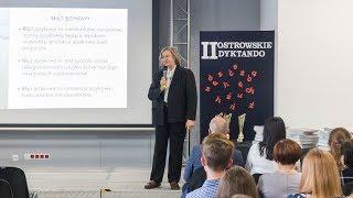 Profesor Elżbieta Wierzbicka-Piotrowska w ostrowskiej elektrowni