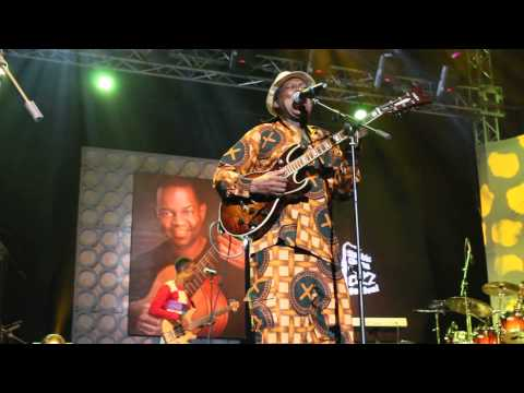 Ebo Taylor performs 'Come Along' at Ghana Jazz Festival 2015
