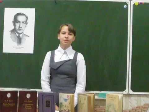 Изображение предпросмотра прочтения – КристинаСмолькова читает произведение «Осыпаются астры в садах....» И.А.Бунина