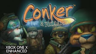 Conker: Live & Reloaded - Xbox One X Enhanced 4k Multiplayer Gameplay #1 (2160p)