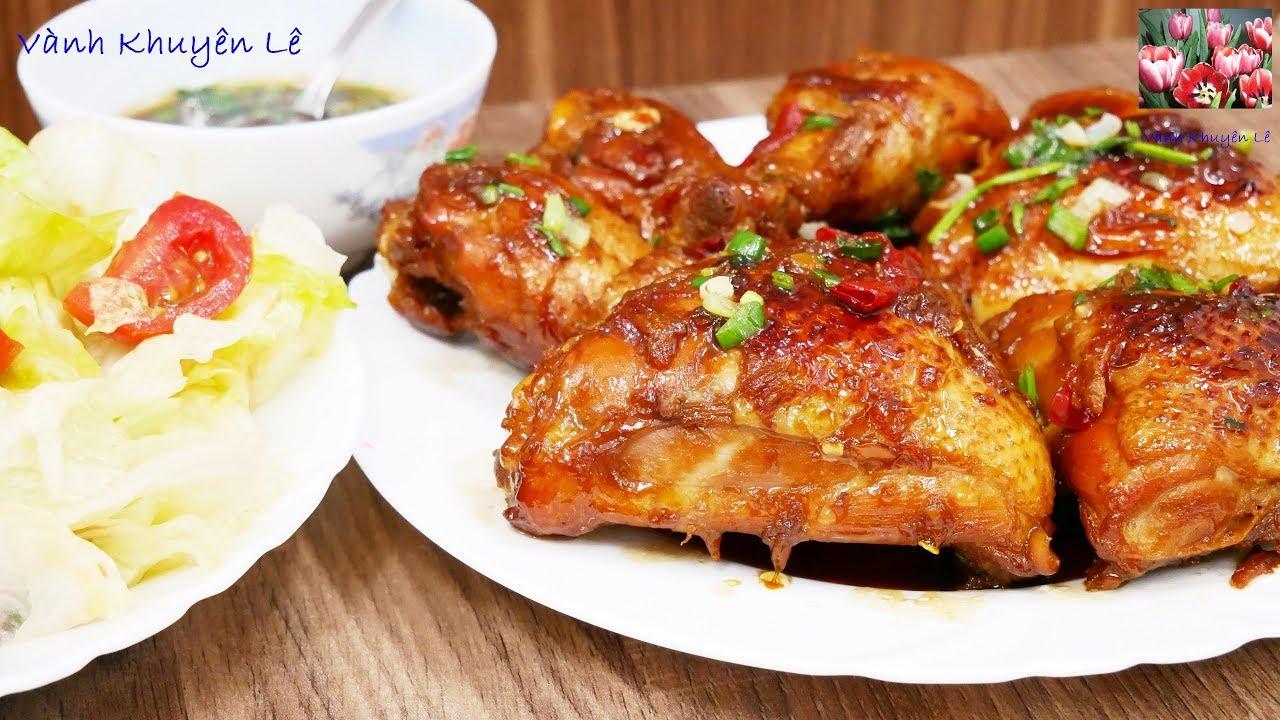 GÀ RAM – Bí quyết nấu GÀ RAM – GÀ RIM – CƠM GÀ và SALAD thơm ngon bổ dưỡng by Vanh Khuyen