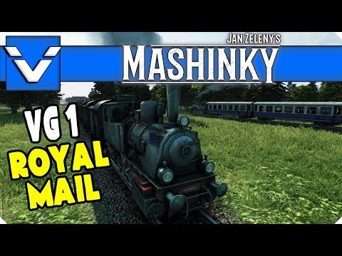 Mashinky: VG1 Royal Mail | Gameplay / Let's Play | Part 3 (Alpha)