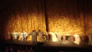 ► R.Wagner: Das Rheingold [curtain calls] MET, April 23, 2009