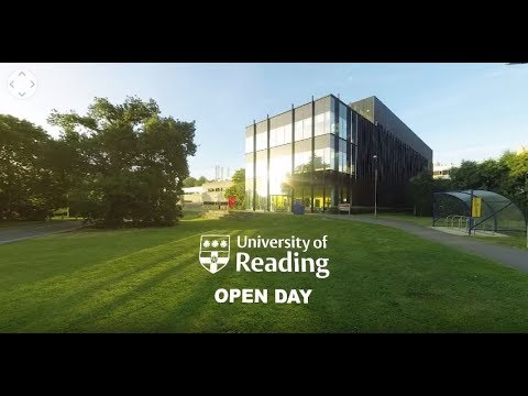 360 video – Experience an Open Day at the University of Reading