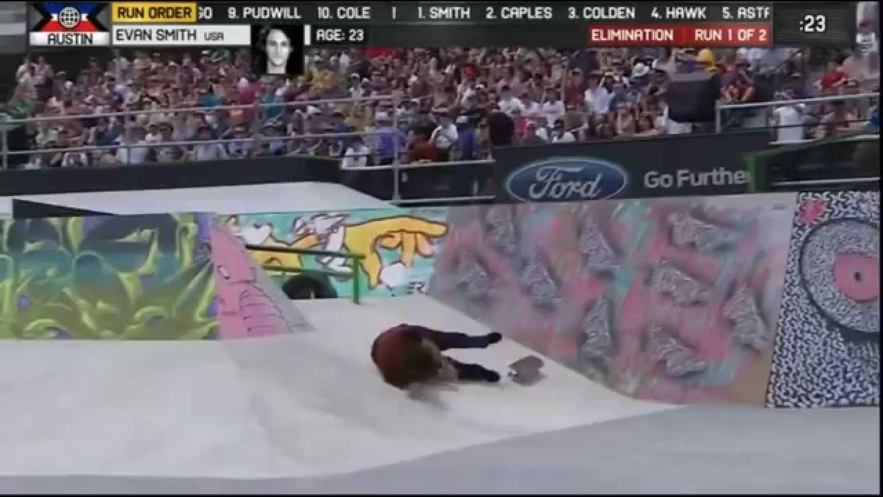 Skateboard Street Eliminations