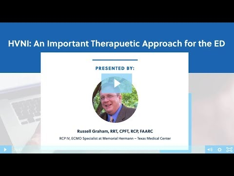 HVNI: An Important Therapeutic Approach in the Emergency Department | BreatheTV Episode 17