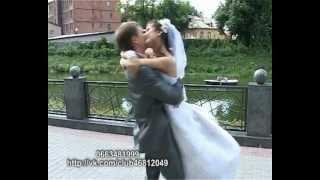 самая красивая свадьба
