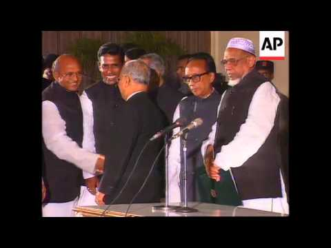 Bangladesh - New Government Formed