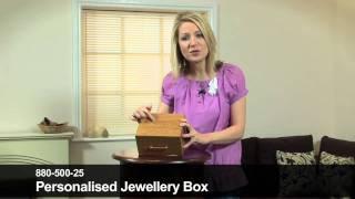 Personalised Jewellery Box By 24studio