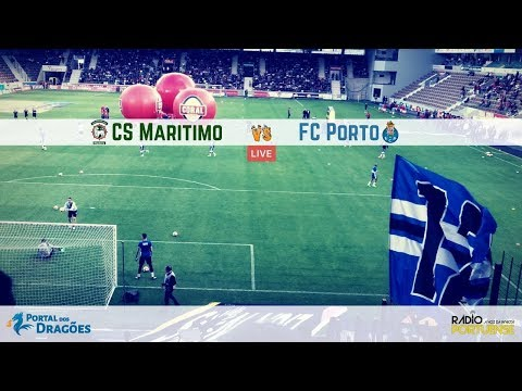 Relato do CS Marítimo vs FC Porto