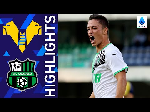 Helas Verona Sassuolo Goals And Highlights