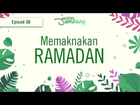 36   Memaknakan Ramadan, jom sembang bersama Presiden IKRAM