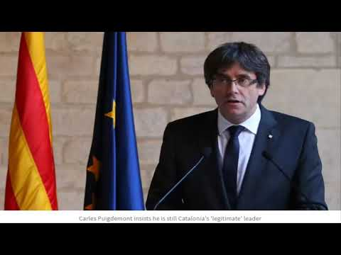 Puigdemont demands Madrid reinstate his government