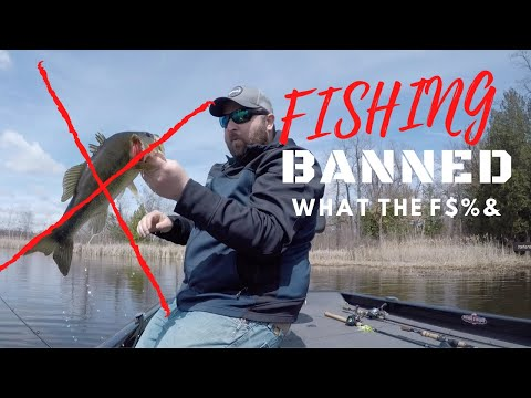 I Am Banned From Fishing!