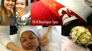 SK-II Boutique Spa Singapore (Senzational Facial) - Vlog!