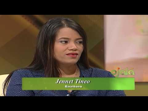 Ojalá | Cita Cultural | La poeta Jennet Tineo | 23-9-16 | Canal 4RD