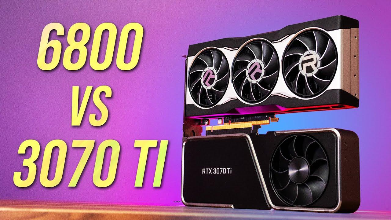 RTX 3070 Ti vs RX 6800 - Is Nvidia's Only Advantage Enough?