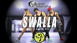 Baixar Swalla - Versão Zumba - Jason Derulo - Equipe Marreta (Jefin, Lucas e Camilla)