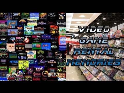 Video Game Rental Memories