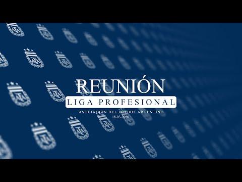 Reunión de la Liga Profesional