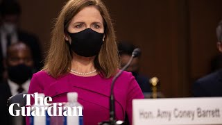 Amy Coney Barrett begins Supreme Court confirmation hearings - watch live