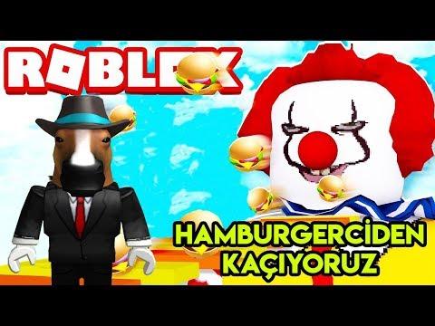 🍔 Hamburgerciden (McDonald's) Kaçıyoruz 🍔 | Escape The Mcdonalds Obby | Roblox Türkçe