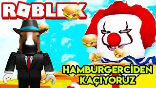 🍔 Hamburgerciden (McDonald's) Kaç-yoruz 🍔 Escape The Mcdonalds Obby - France Roblox Tôrkçe