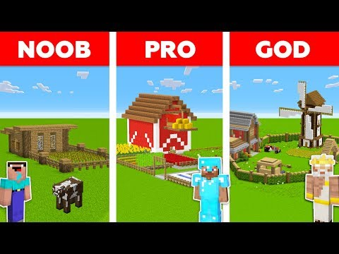 minecraft-noob-vs-pro-vs-god:-village-farm-build-challenge-in-minecraft-/-animation