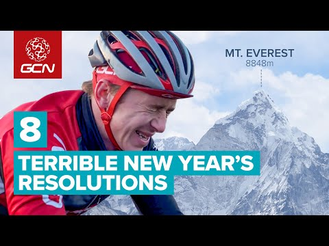 8 Terrible New Year's Resolutions For Cyclists