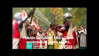 "SUPERNATURAL 8x11 Sub Español ""LARP and the real girl"" Promo HD"