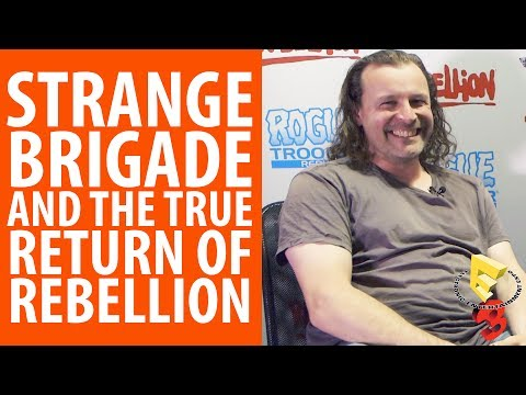 Strange Brigade and the true return of Rebellion | An interview with Jason Kingsley @ E3 2017