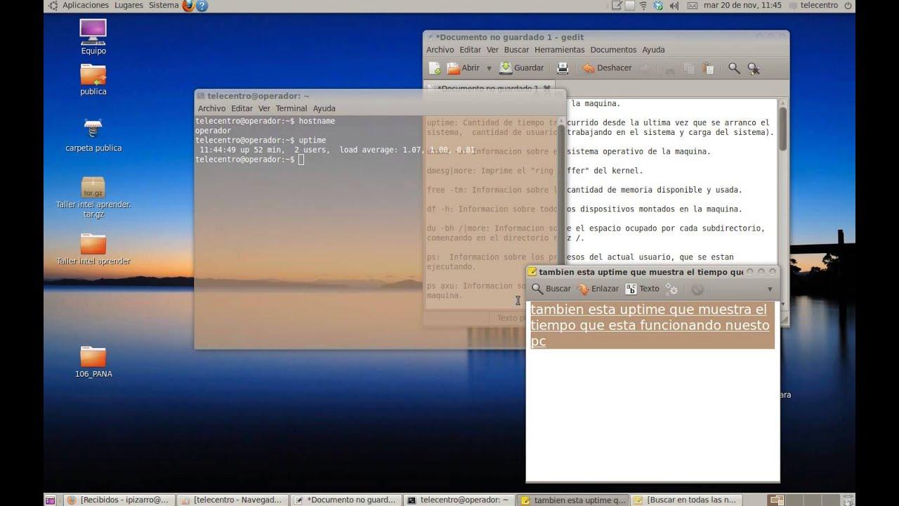 ubuntu para telecentro