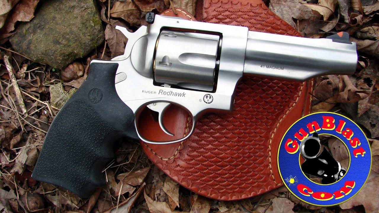 Shooting Davidson S Exclusive Ruger 4 2 41 Magnum Redhawk