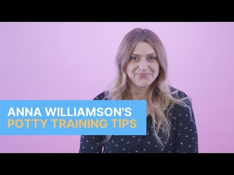 The five potty training tips Anna Williamson swears by