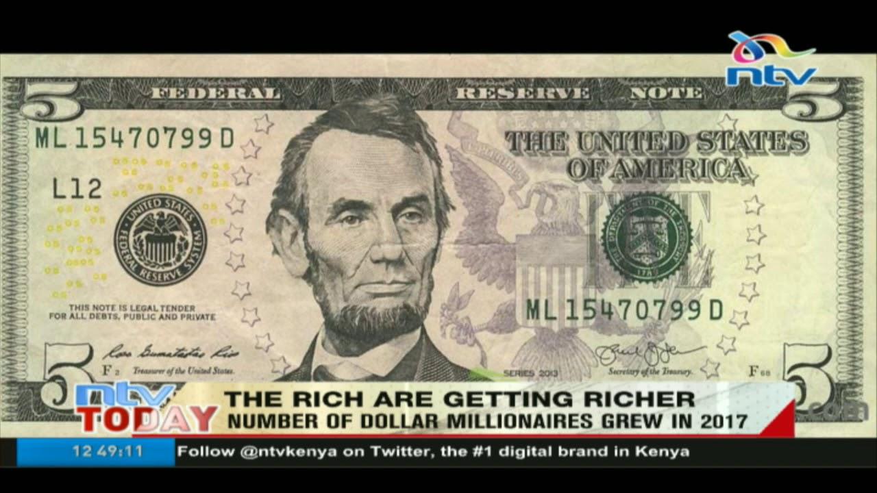 Number of dollar millionaires in Kenya grew in 2017 - Knight Frank 2018  Wealth Report