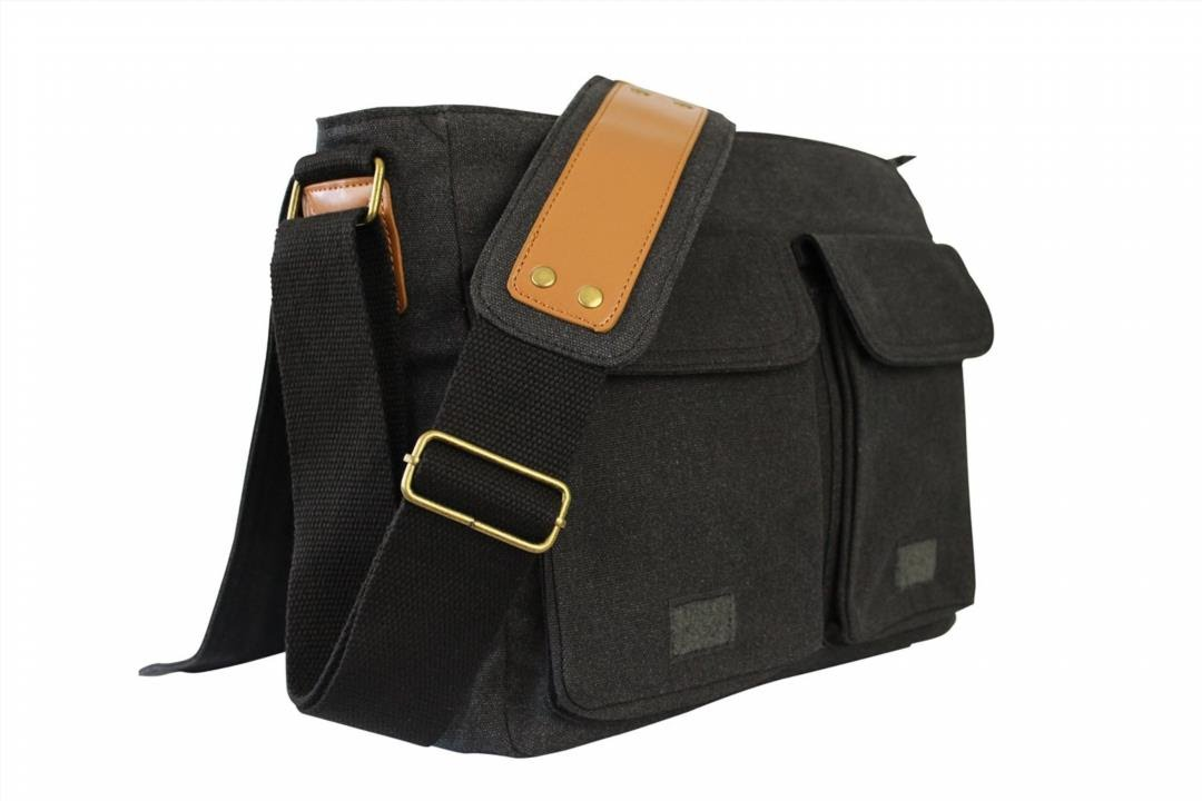 SKORCH Slim Canvas Messenger Bags and Commuter Bags for Men and ...