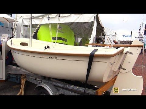 2016 Bauteck Marine Bauer 12 Boat - Walkaround - 2015 Annapolis Sail Boat Show