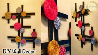 Very Unique Wall Hanging| gadac diy| Wall Hanging Ideas| wall decor diy| Craft Ideas for Home Decor