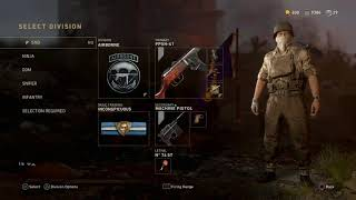 WWII NEW GOLD CAMO GLITCH