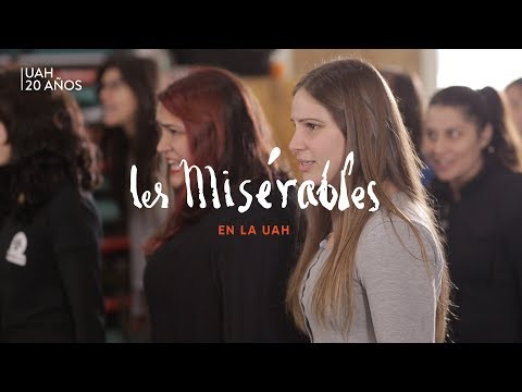 Ensayo: Musical Los Miserables [2017].
