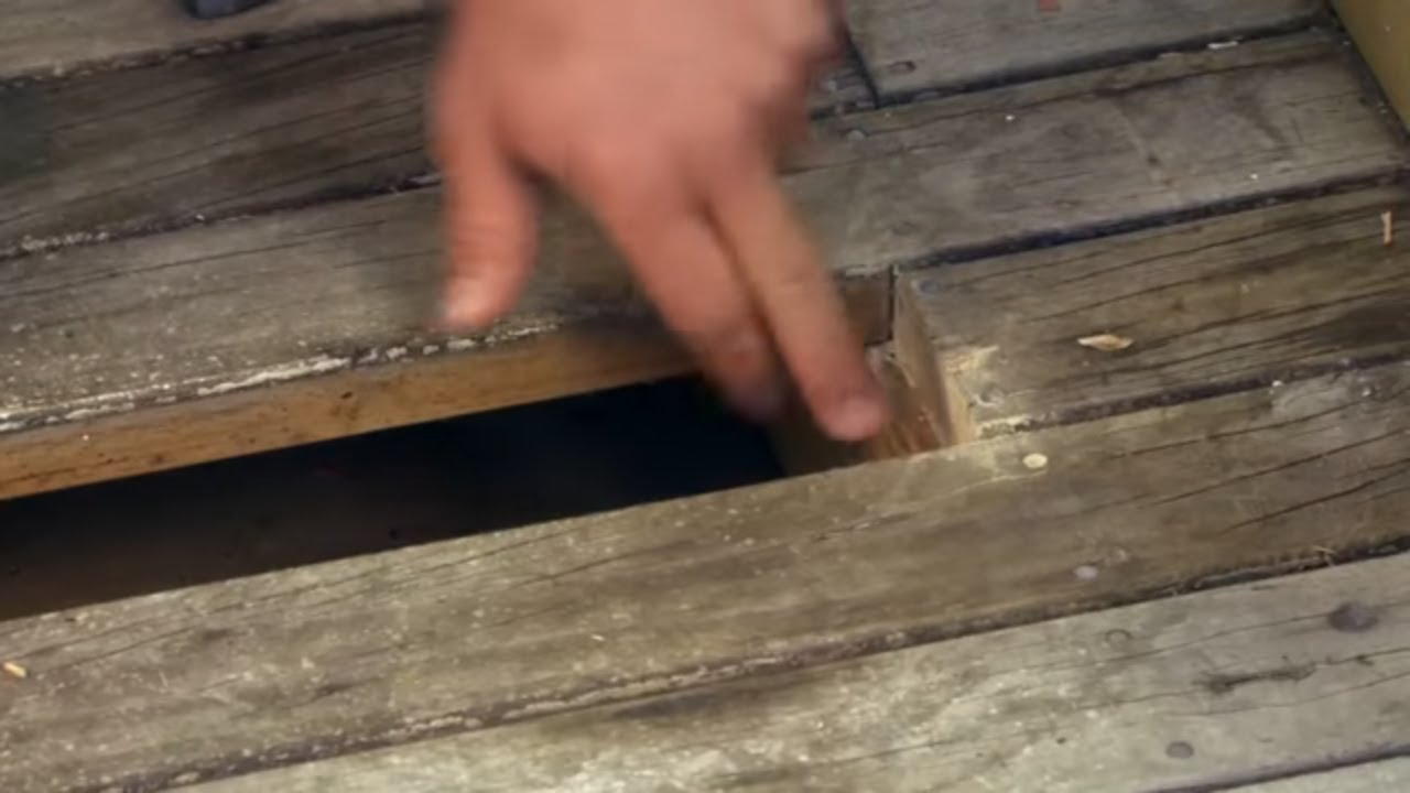 Replacing Deck Boards Youtube