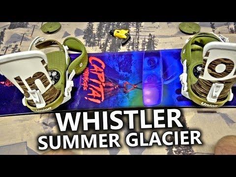 Capita Horrorscope & Whistler Summer Snowboarding