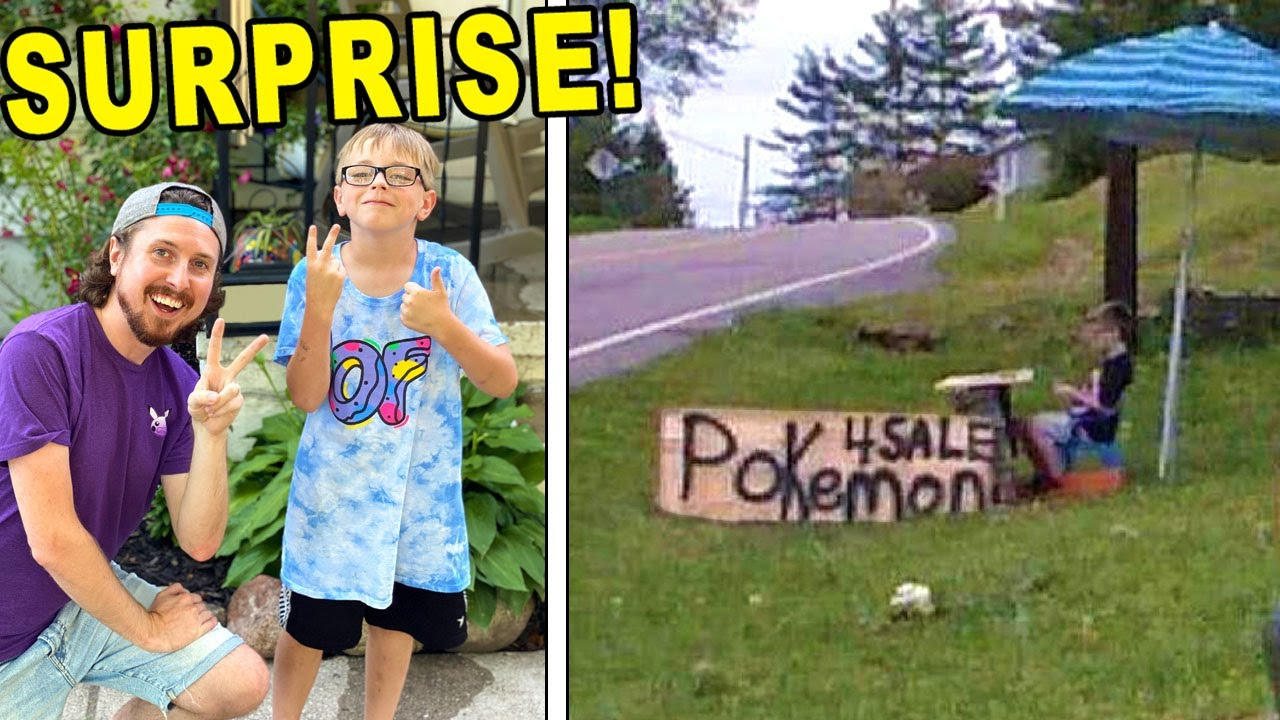 Download I Surprised The Boy Who Sold His Pokemon Cards To Help His Sick Puppy!