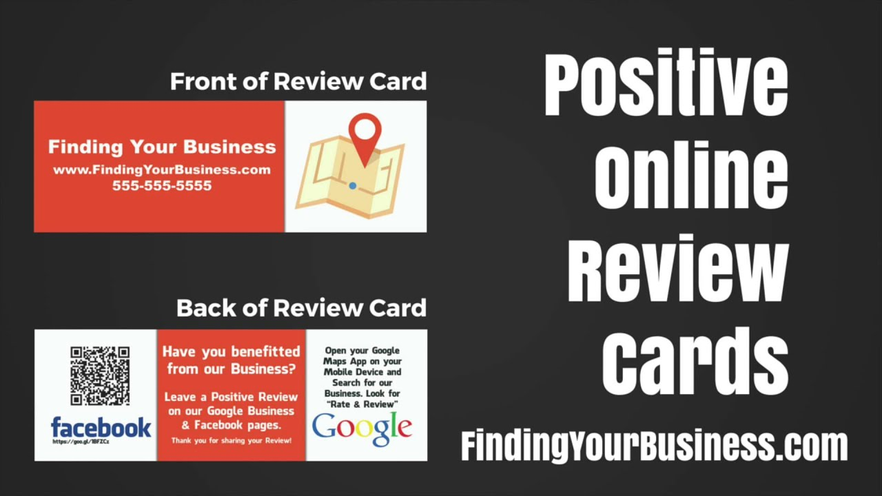 How to Get Positive Business Reviews for Facebook & Google ...