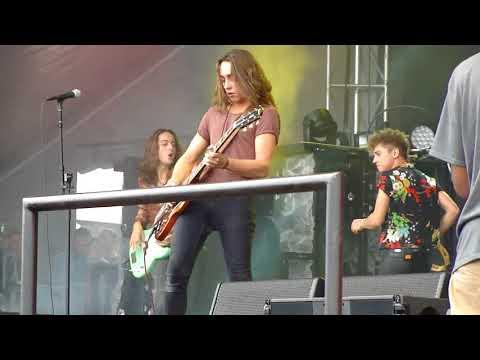 Greta Van Fleet, Edge of Darkness, Live at Louder than Life 2017