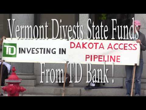 PSA Vermont Divests State Funds From TD Bank!
